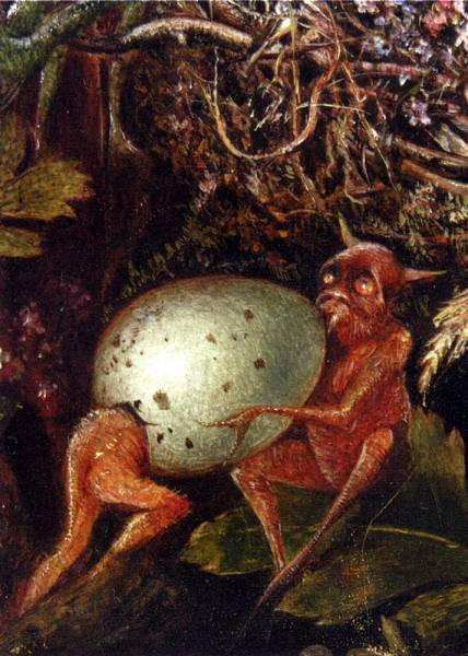 Fairies In A Birds Nest detail 2